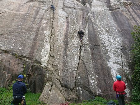 where can i try climbing in dublin